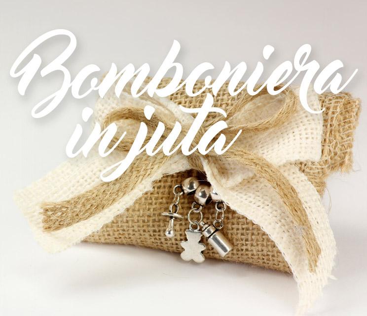 Bomboniera in Juta