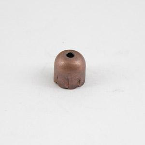 Coppetta piccola con foro - FF060 - Rame antico