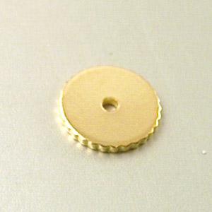 Distanziale zigrinato grande - FF062 - Oro