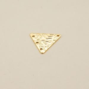 Componente ottone triangolare - FF212 - Oro