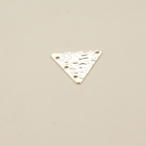 Componente ottone triangolare - FF212 - Argento