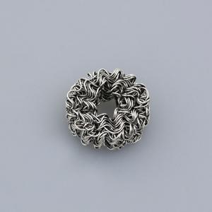 Componente ferro - FF312 - Argento antico
