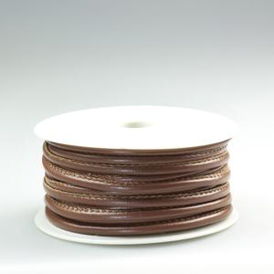 Bordura simil-pelle - K1041 - Marrone