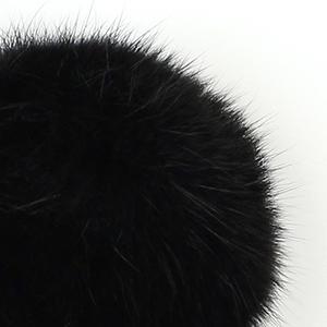 Pompon in lapin - K1190-65 - 108 - Nero