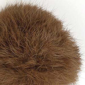 Pompon in lapin - K1191-65 - 107 - Cioccolato