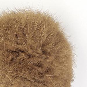 Pompon in lapin - K1191-65 - 116 - Marrone Chiaro