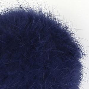 Pompon in lapin - K1191-65 - 117 - Blu