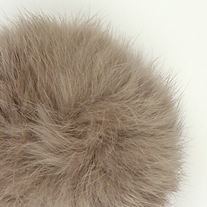 Pompon in lapin - K1191-65 - 96 - Nocciola