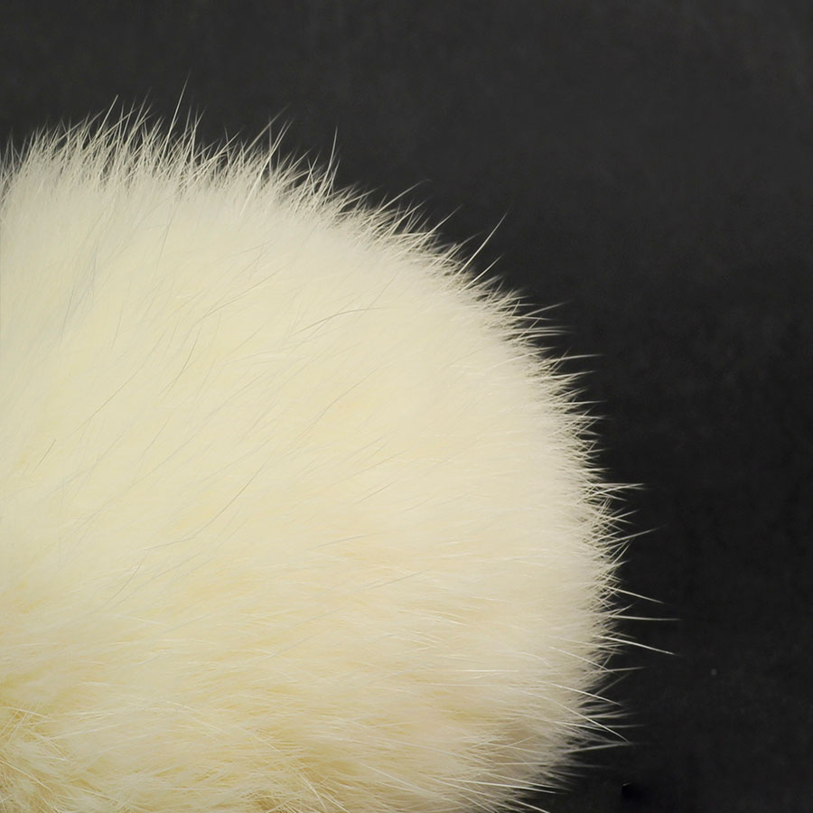 Pompon in lapin - K1191-65 - 97 - Panna