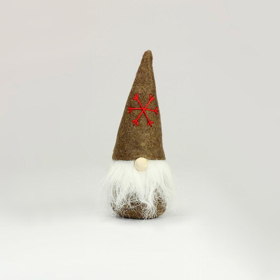 Piccolo gnomo - K1325 - Marrone