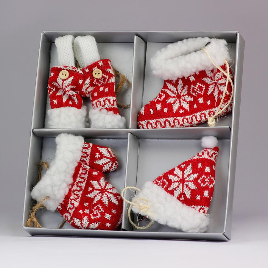 Box decorazioni - K1328 - Rosso