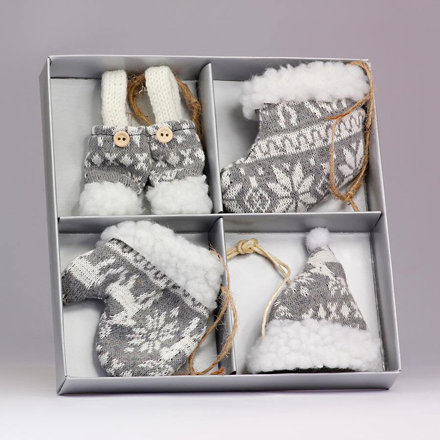 Box decorazioni - K1328 - Grigio
