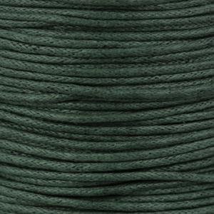 Rocchetto di cordoncino cerato  - K188 - Verde bottiglia
