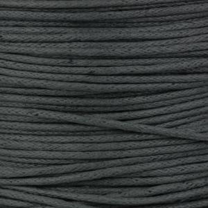 Rocchetto di cordoncino cerato  - K188 - Grigio