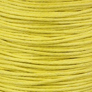 Rocchetto di cordoncino cerato  - K188 - Giallo limone
