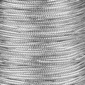Rocchetto di cordoncino cerato  - K188 - Argento