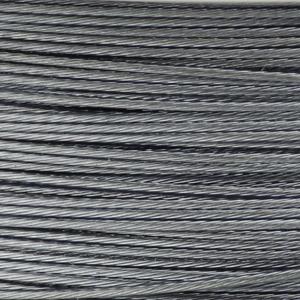 Rocchetto di filo in acciaio colorato - K207 - Argento