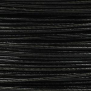 Rocchetto di filo in acciaio colorato - K207 - Nero