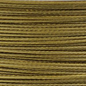 Rocchetto di filo in acciaio colorato - K207 - Senape