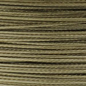 Rocchetto di filo in acciaio colorato - K207 - Beige chiaro