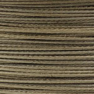 Rocchetto di filo in acciaio colorato - K207 - Beige scuro