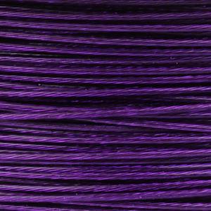 Rocchetto di filo in acciaio colorato - K207 - Viola