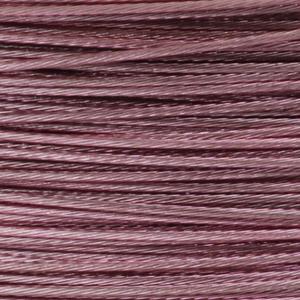 Rocchetto di filo in acciaio colorato - K207 - Rosa