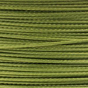 Rocchetto di filo in acciaio colorato - K207 - Verde chiaro
