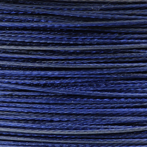 Rocchetto di filo in acciaio colorato - K207 - Blu scuro