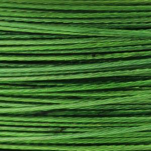 Rocchetto di filo in acciaio colorato - K207 - Verde