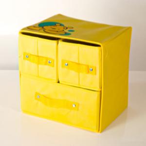 Box 3 cassetti biancheria - K570 - Giallo