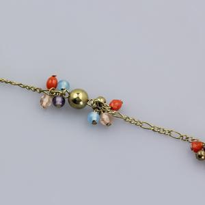Rocchetto catena multicolor - K887 - Oro