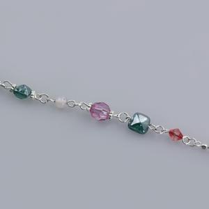 Rocchetto catena multicolor - K888 - Nikel