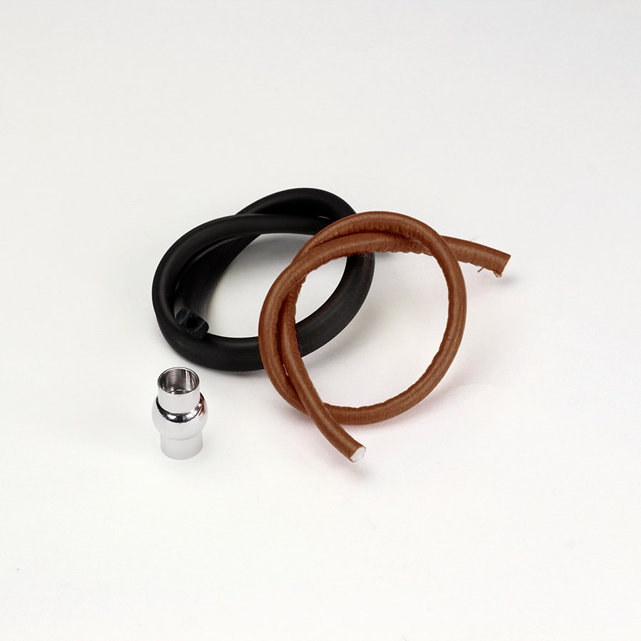 Kit Braccialetto Liquirizia - kit-braccialetto - Cuoio