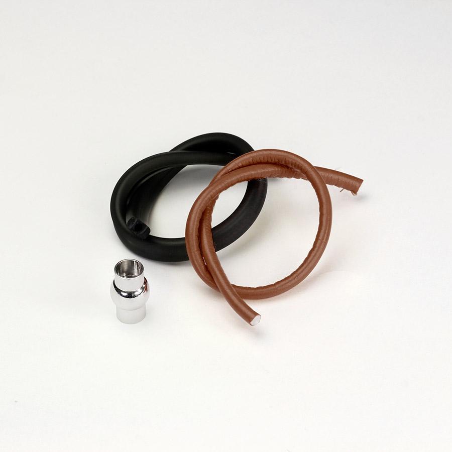 Kit Braccialetto Liquirizia - kit-braccialetto - Marrone